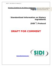 SIDI Protocol 3.0_Draft for Comment.doc