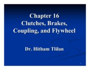 Ch16-clutches - brakes