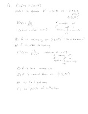 Exam C Solutions on Applied Calculus