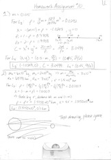 ASE 366L Homework 10 Solutions