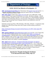 #12Case Histories of Earthquakes - II