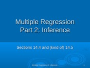 Multiple Reg 2 Inference