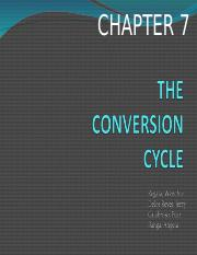 THE CONVERSION CYCLE presentation.ppt
