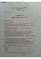 hist-africa and the atlatic world -study guide