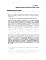 Chap5_QUALITY MANAGEMENT AND SIX SIGMA