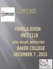 comcast power point
