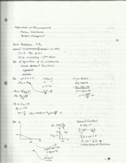 Microeconomic Theory Exponents and Applications Notes