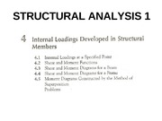 CHAPTER 4-INTERNAL LOADINGS DEVELOPED IN STRUCTURAL MEMBERS