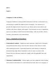 wgu est1 task 2 examples