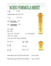 Formula Sheet for Review Package