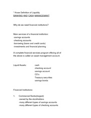Fin 380 Notes Lecture 4 BANKING AND CASH MGT blackboard (2)