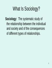 Lesson 4 - Founders of the sociology