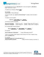 Unit 8 - Grammar - Giving Dates.pdf