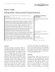 (7) S. Dhungana Idiopathic intracranial hypertension
