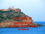 Lecture 18 - Theseus and Athens