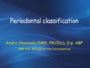 Lecture 2_Classification Rochester Bio of Perio 2015 2.2.15 (1) [Unlocked by www.freemypdf.com]