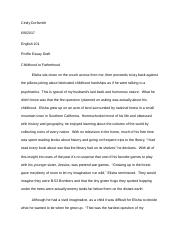 Childhood to Fatherhood Essay revised-1.docx