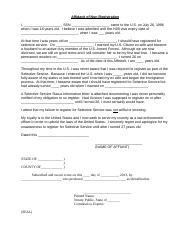 Affidavit-of-Non-Registration-Selective-Service-DRAFT