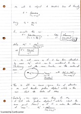 Binary Systems And Centre of Mass Lecture Notes