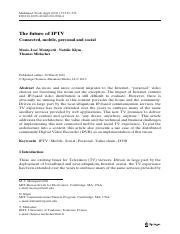 The Future of IPTV.pdf
