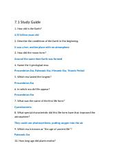 7.1 Study Guide.doc