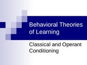 Behavioral Theories of Learning Copy.pptx
