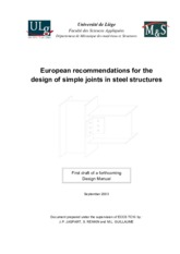 European-Recommendations-for-the-Design-of-Simple-Joints-in-Steel-Structures-1st-Draft-2003-Jaspart