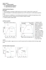 chapter 6 liquid-liquid phase diagram and liquid-solid phase Diagram