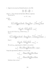 Differential Equations Lecture Work Solutions 331