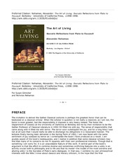 ebooksclub.org__The_Art_of_Living__Socratic_Reflections_from_Plato_to_Foucault__Sather_Classical_Lec