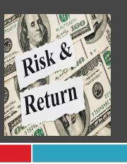 RISK AND RETURN share.pptx
