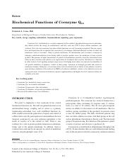 Biochemical Functions of Coenzym Q10.pdf