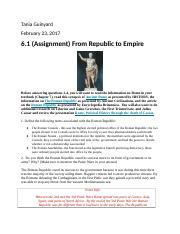 6.1(Assignment)From Rep. to Emp..docx