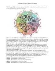 Exercise 4 - The Discovery Wheel