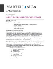 Martell.Alla_LP3 _Muscular Disorders Case Report.docx