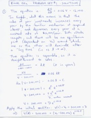 Enas 194a Problem Set 1 Solutions