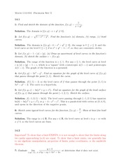 MATH 114 Homework 5 Solutions