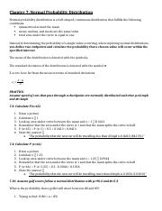 APS - Notes - Humongous Book - Continuous Probability Distributions.docx