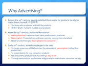 W9B Adverstising and Consumer Culture -2