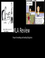 MLA Review.pptx