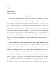 Kate my writing life.docx