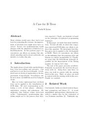 A Case for B-Trees.pdf