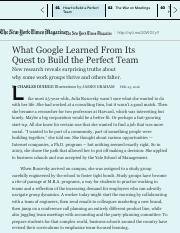 What Google Learned From Its Quest to Build the Perfect Team - The New York Times.pdf