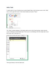 How to Create a Task with Google Task - for Gmail