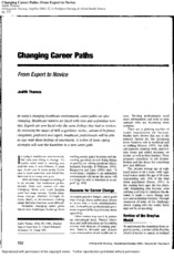 From+expert+to+novice-changing+career+paths