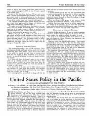 US Policy in the Pacific