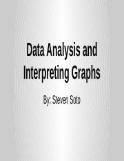 Data Analysis and Interpreting Graphs