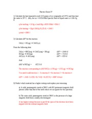 Practice Exam IV Fall 2004 -- ANSWERS UPDATED III
