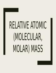 Relative atomic mass.pptx