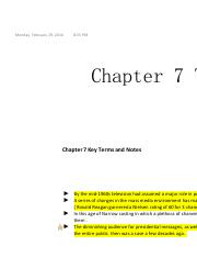 Chapter 7 The mass Media and The Political Agenda